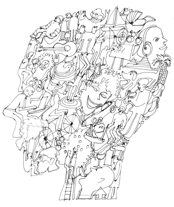 kreslena hlava psychodiagnostika